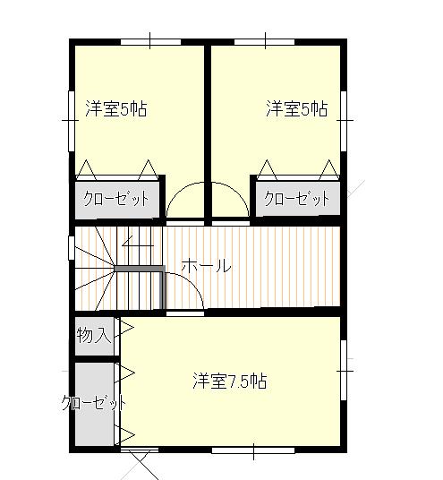 弘前市泉野展示場-間取り画像|グッドライフエコの家