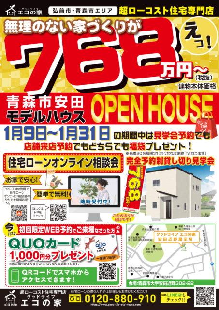 【完全予約制|1日5組限定】青森市安田近野住宅展示場|グッドライフエコの家