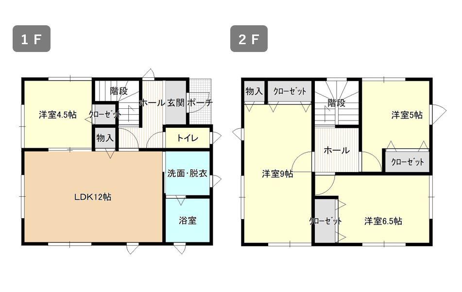 平川市松崎住宅展示場-間取り画像 グッドライフエコの家